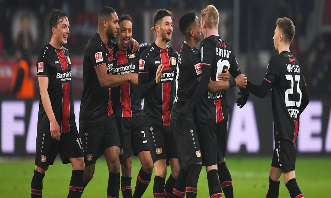 Jogos do Bayer Leverkusen vs Wolfsburg