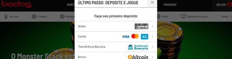 depósito Mastercard