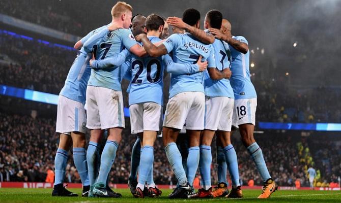 Jogos do Manchester City